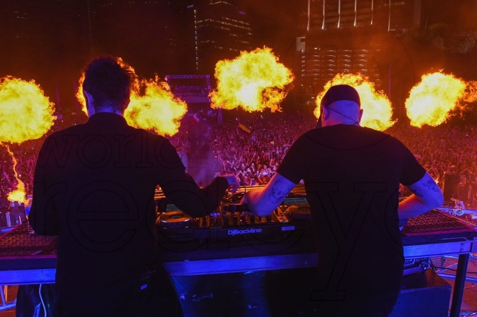 Knife Party Ultra Music Festival 2016