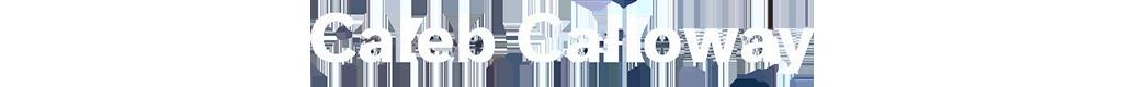 Caleb Calloway Logo