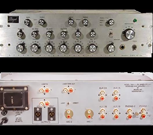 Bozak CMA-10-2DL-Silver