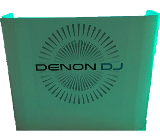 Custom Logo DJ Booth
