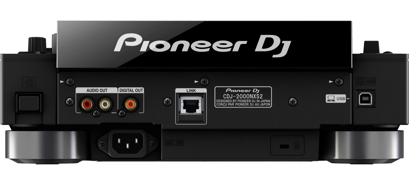 Pioneer CDJ2000-Nexus2 Rear