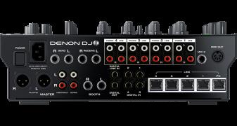 Denon X1800 Prime -Rear