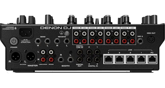 Denon X1850 Prime Rear