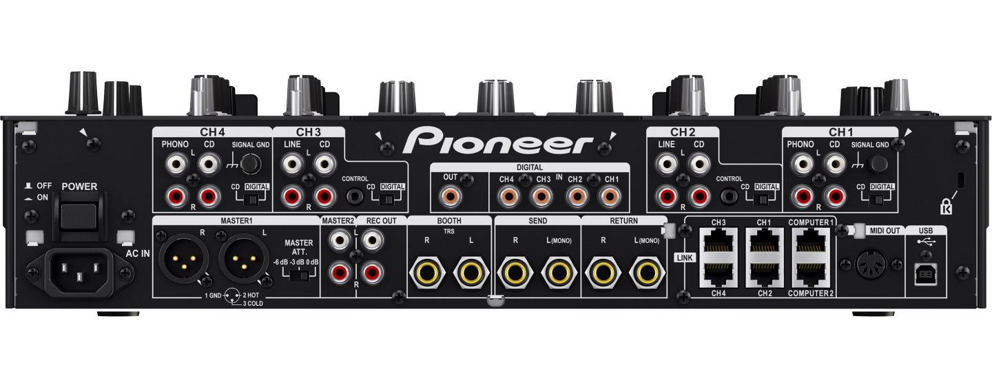 Pioneer DJM-2000 NEXUS-Rear