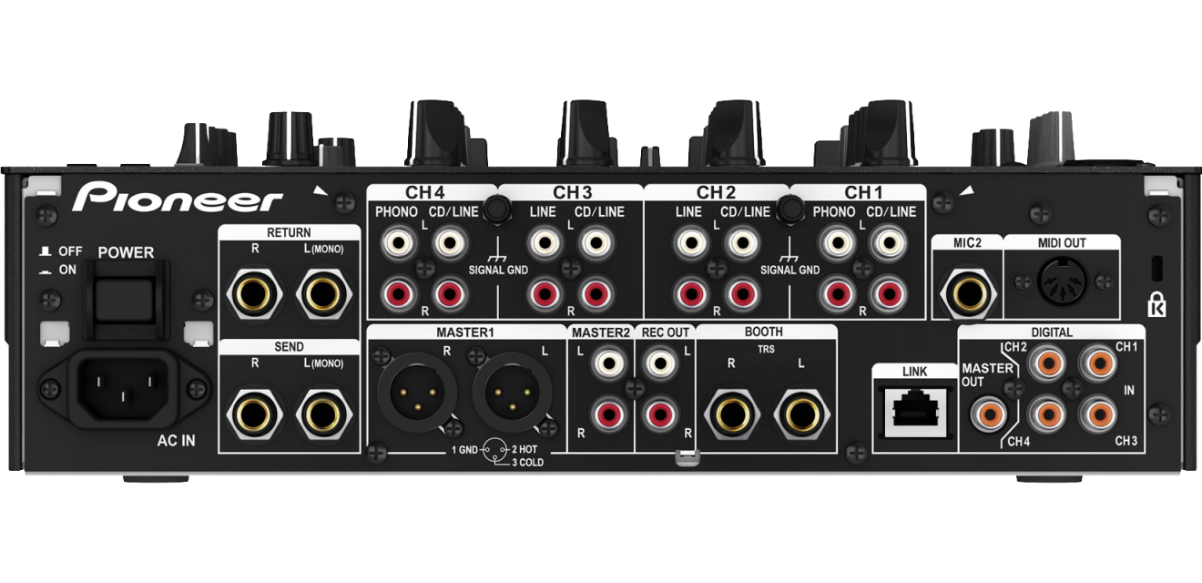 Pioneer DJM 900 Nexus M-Rear