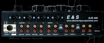 E&S DJR 400 - rear