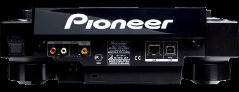 Pioneer CDJ 2000 Rear
