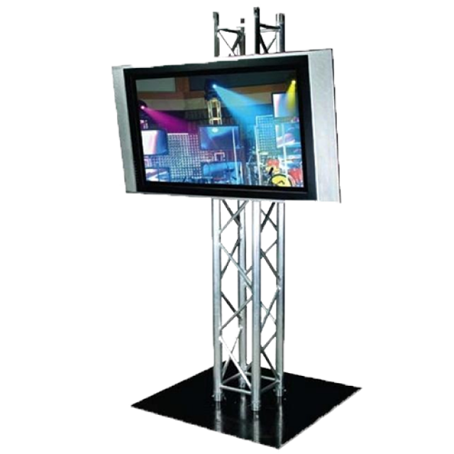 Totem Truss Stand TV Mounting