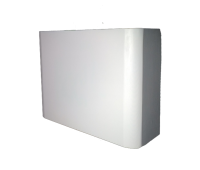 White Rounded Corners 5' and 6'